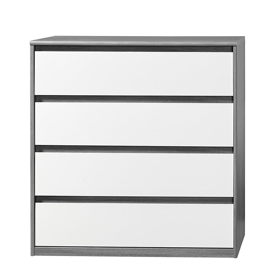 kommode soft smart iii silbereiche dekor wei cs schmal g nstig online kaufen. Black Bedroom Furniture Sets. Home Design Ideas