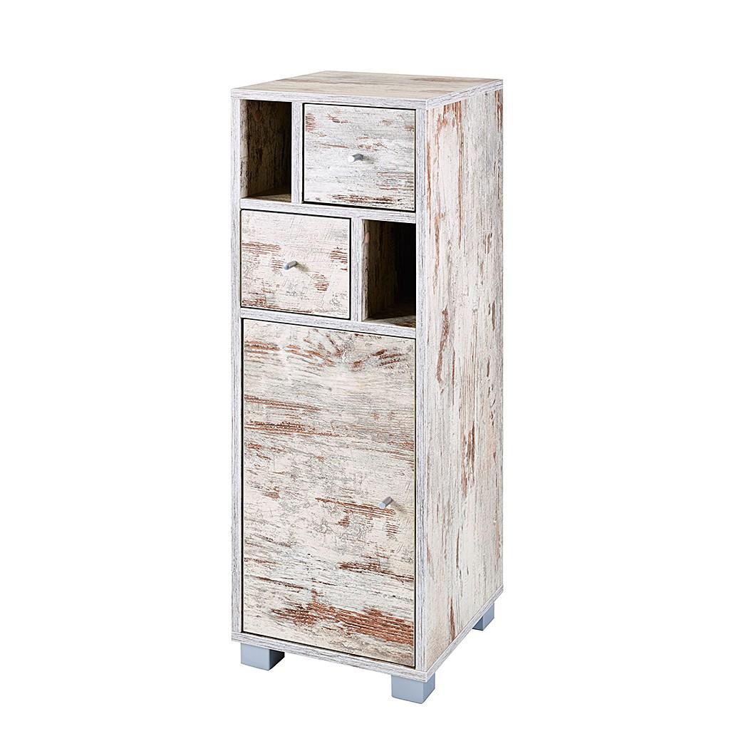 kommode verna i eiche antik dekor nachtkommode konsole kommode ebay. Black Bedroom Furniture Sets. Home Design Ideas