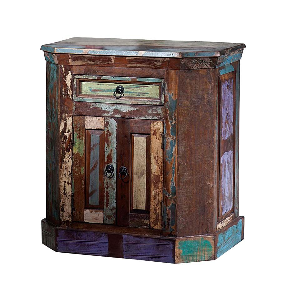 Kommode Vintage - Recyclingholz - Bunt