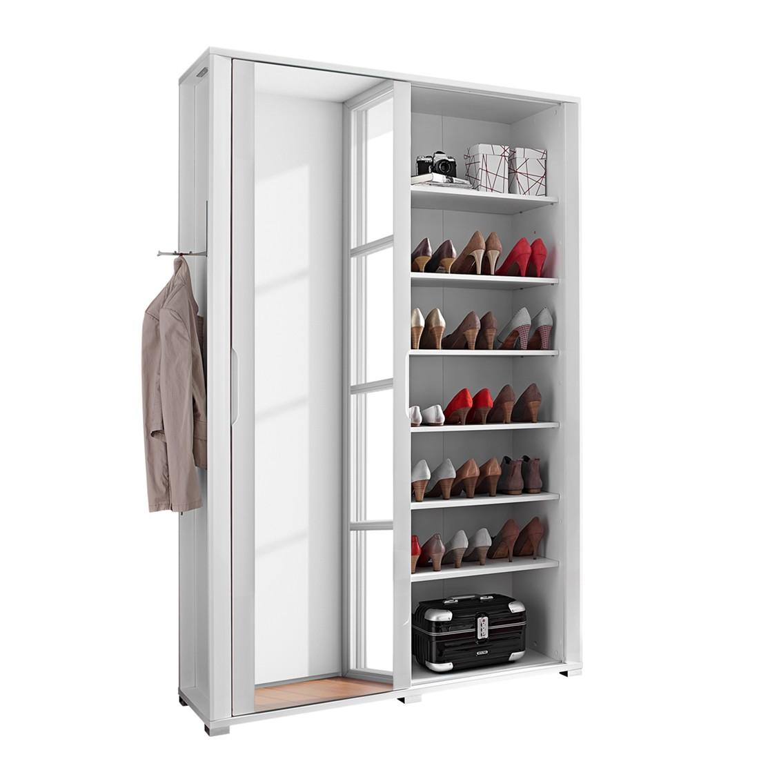 modoform sonstige kompakt garderobe silkeborg hochglanz wei modoform. Black Bedroom Furniture Sets. Home Design Ideas