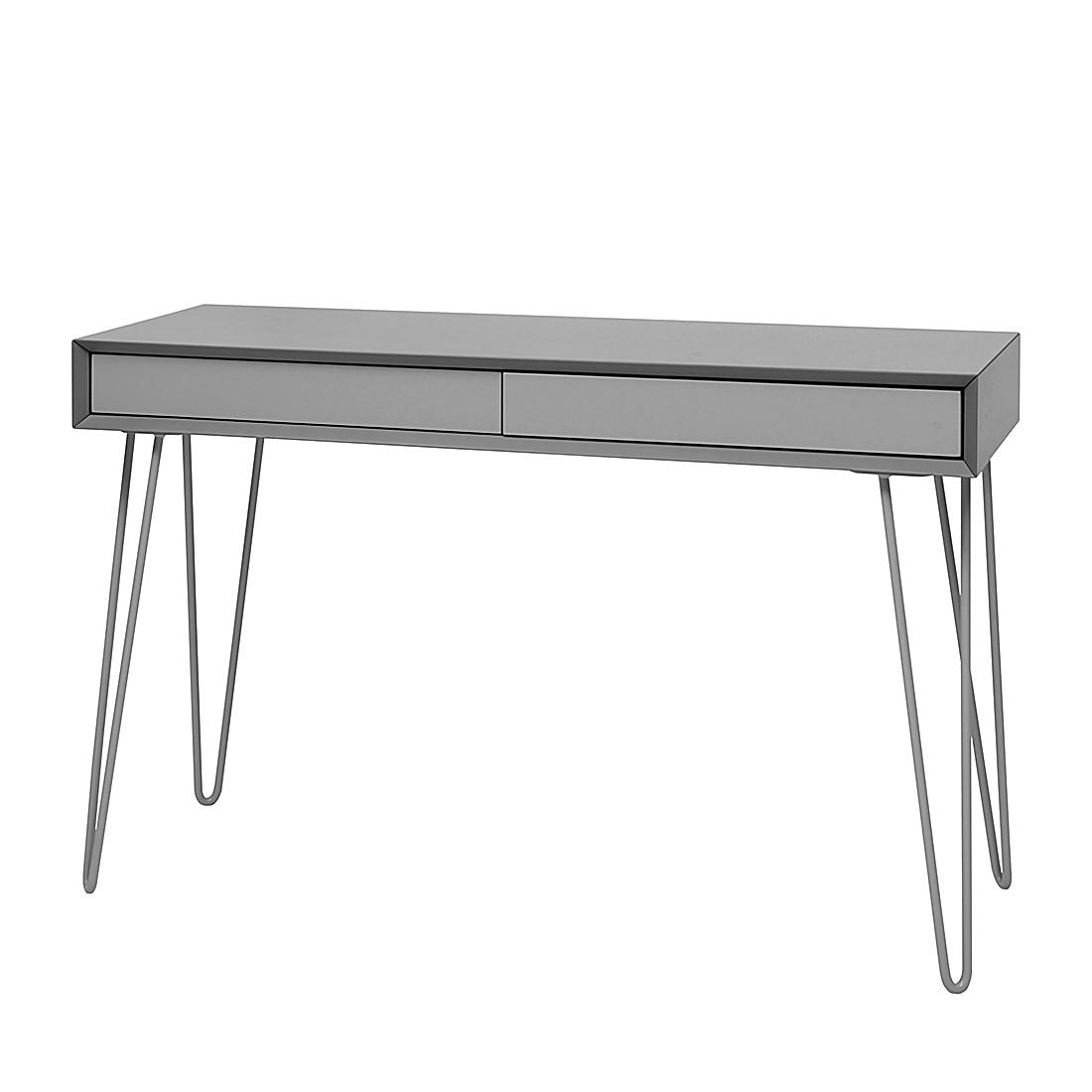 konsolentisch jerrell matt grau m rteens tipps vom. Black Bedroom Furniture Sets. Home Design Ideas