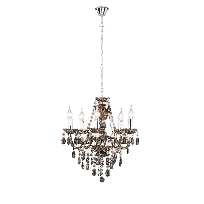 kronleuchter nichinan kunststoff 5 flammig schwarz braun loistaa a g nstig online kaufen. Black Bedroom Furniture Sets. Home Design Ideas