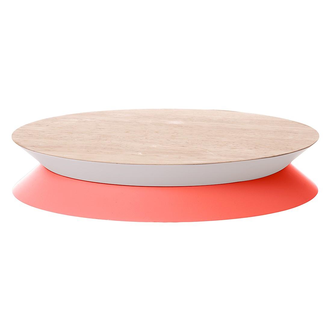 Kuchenplatte Yoyo – Holz/Neonorange/Minzgrün, Present Time günstig bestellen
