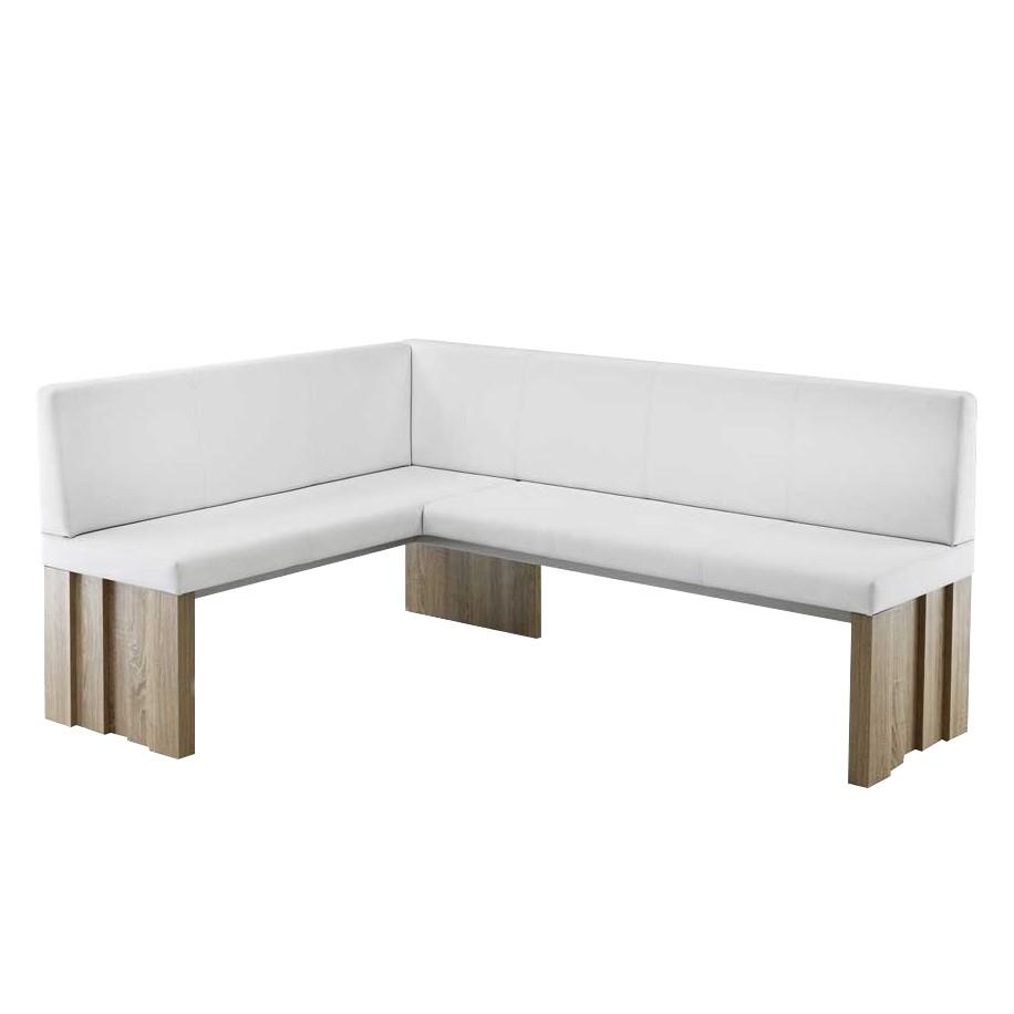 k chen eckbank acsandrio wei eiche dekor kunstleder holzwerkstoff tollhaus jetzt kaufen. Black Bedroom Furniture Sets. Home Design Ideas