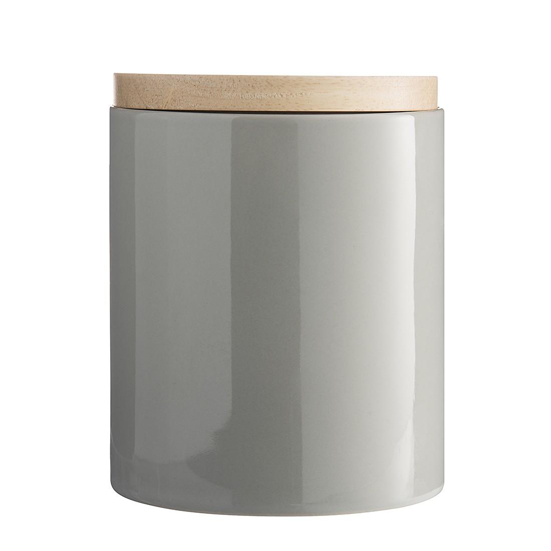 Küchendose II – Keramik Hochglanz Grau, Madam Stoltz online bestellen
