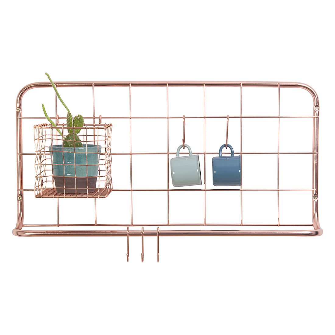 k chenregal open grid kupferfarben pt kitchen. Black Bedroom Furniture Sets. Home Design Ideas