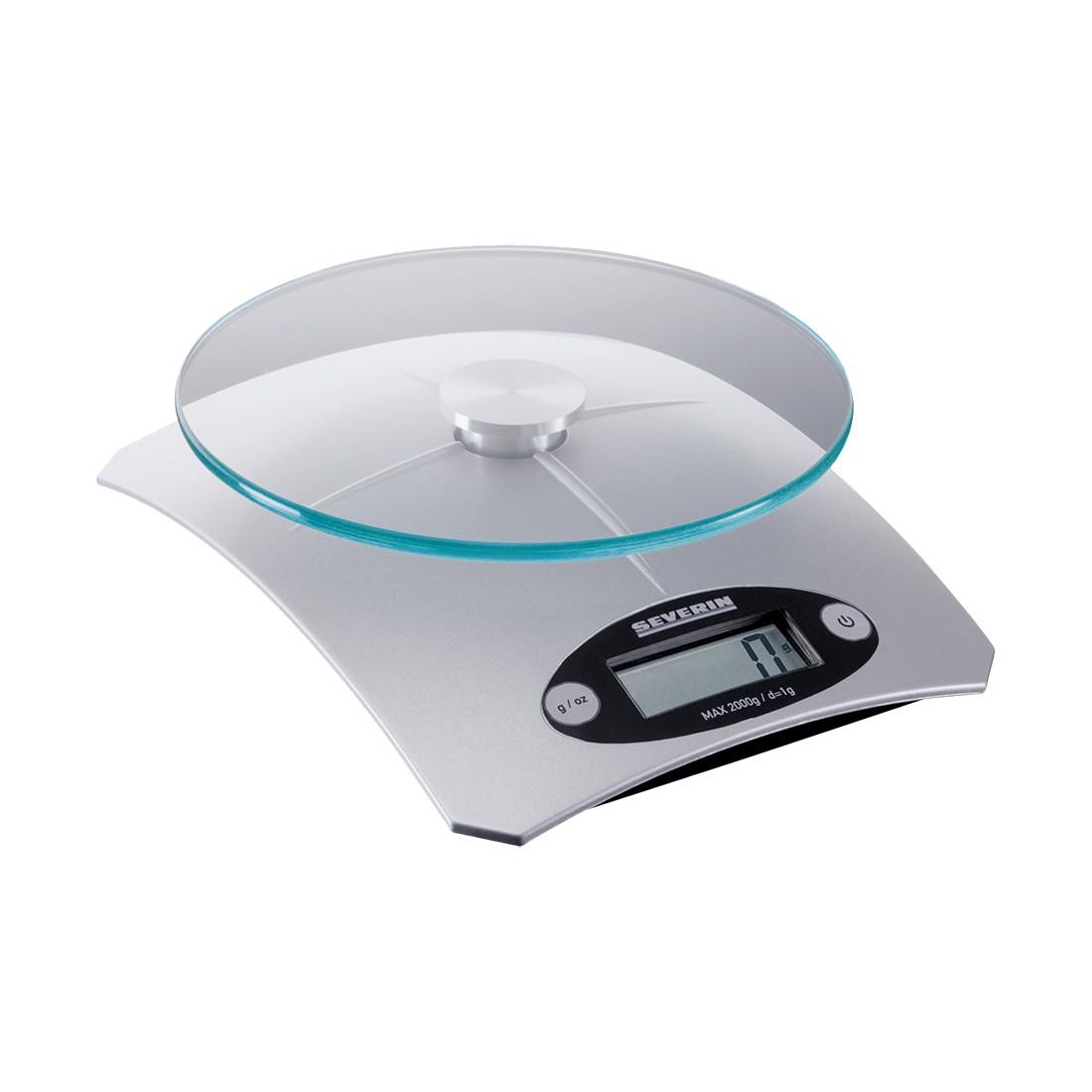 Küchenwaage KW 3667 digital – Kunststoff Silber, Severin online bestellen