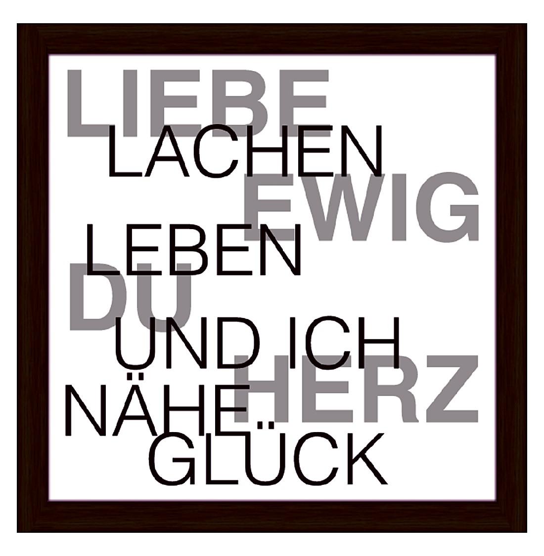 Kunstdruck Liebe – 37,2 x 37,2 cm, Artland günstig