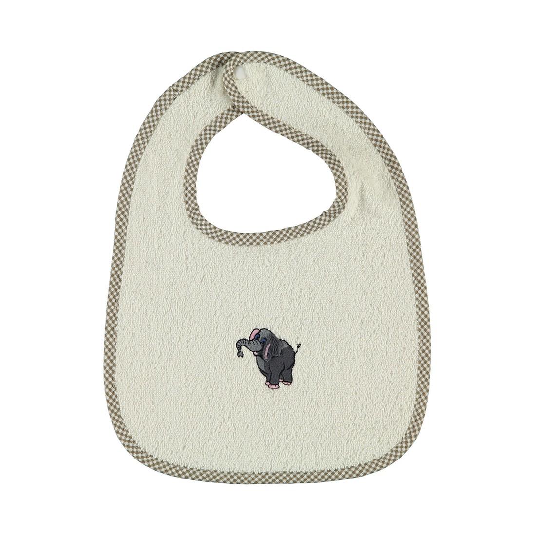 Lätzchen Baby Zoo – 100% Baumwolle ivory – 103, Vossen bestellen