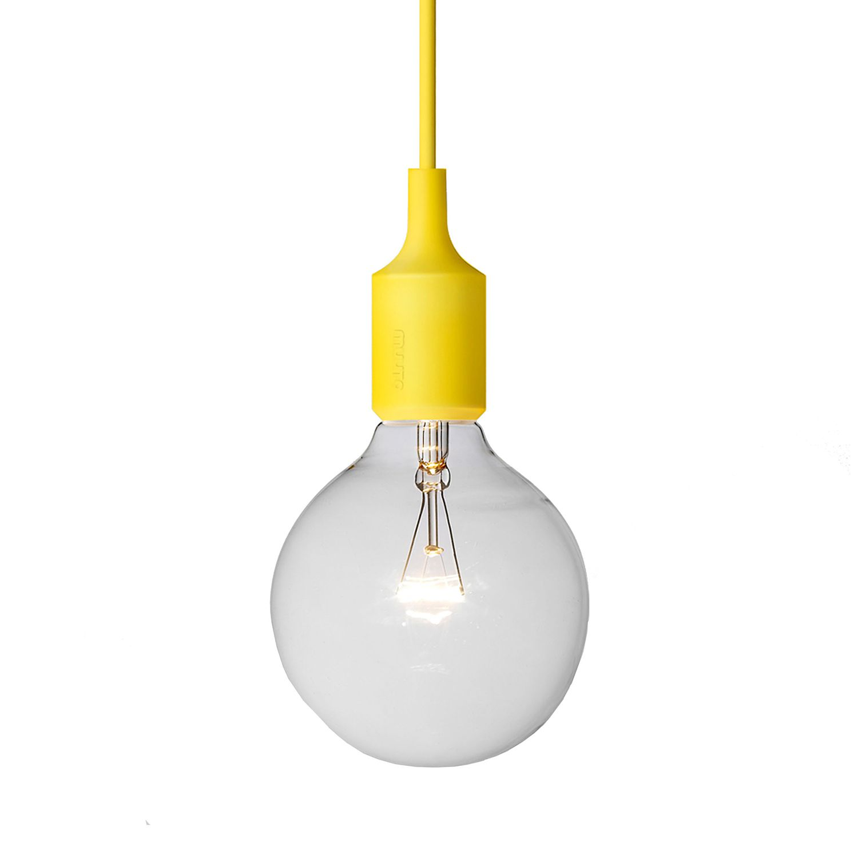 lampe e 27 silikon gelb muuto q ik 5674 kauf dir. Black Bedroom Furniture Sets. Home Design Ideas