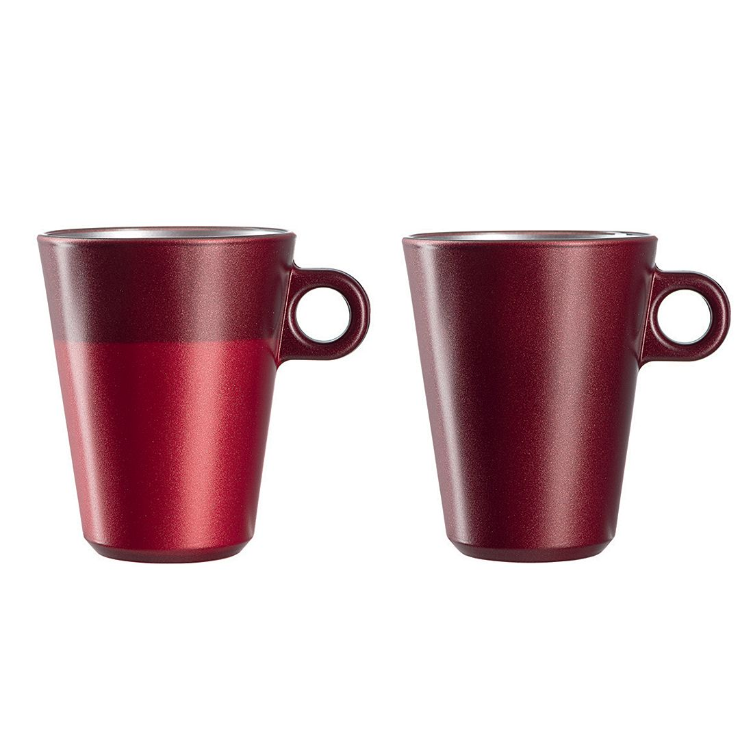 Latte Macchiato Glas Ooh Magico (2er-Set) - Rot Metallic, Leonardo
