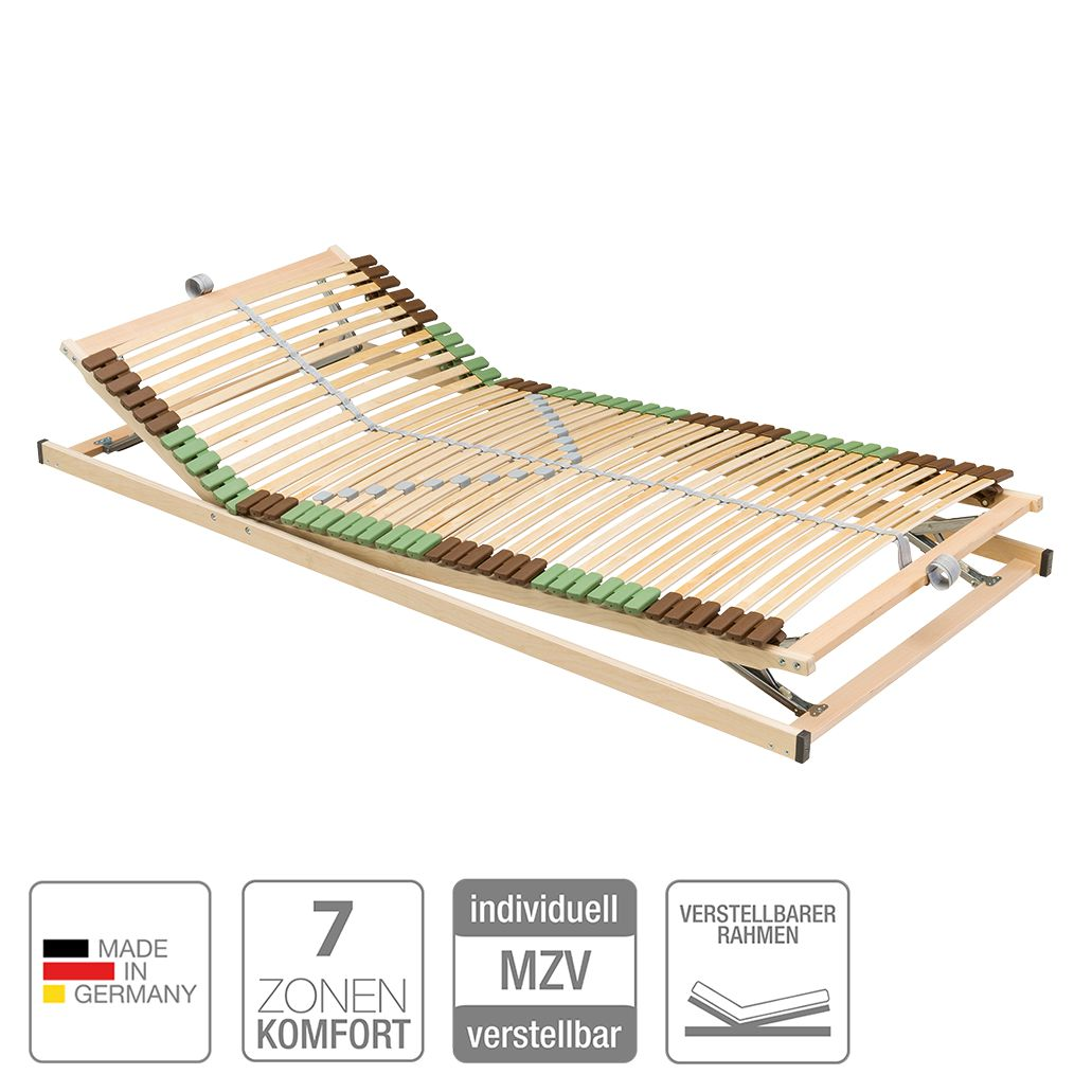 Lattenrost Beech – Buche massiv – verstellbar – 140 x 200cm, Nova Dream Sleepline online kaufen