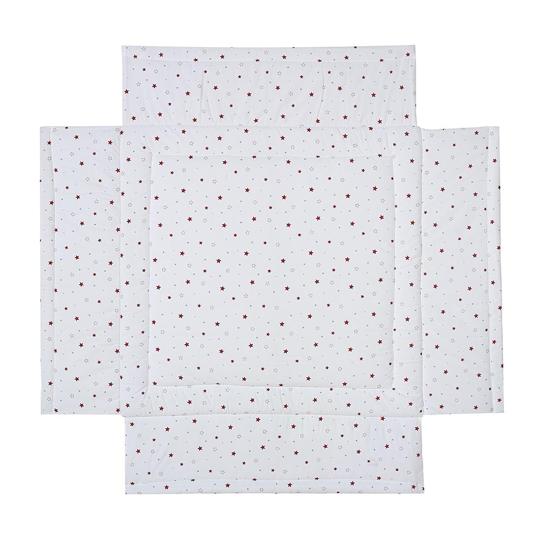Laufgittereinlage – Sternchen – Rot – 100 x 100 cm, Schardt jetzt bestellen