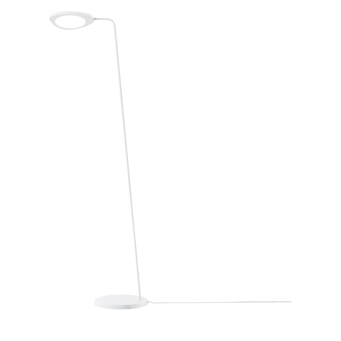 Stehleuchte Leaf LED ● Aluminium Weiß- Muuto