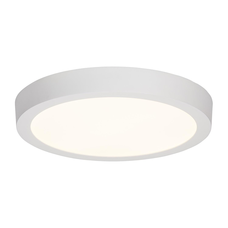LED-Aufbauleuchte Katalina 1-flammig ● Weiß Metall- Brilliant A+