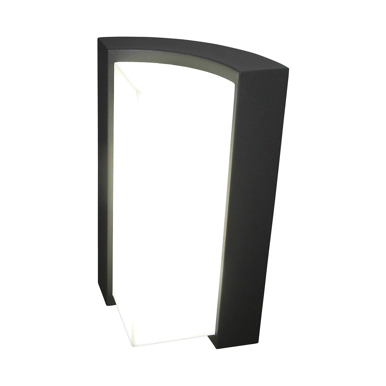 EEK A+, LED-Außen-Stehleuchte Swerve II 36-flammig - Grau Aluminium, Näve