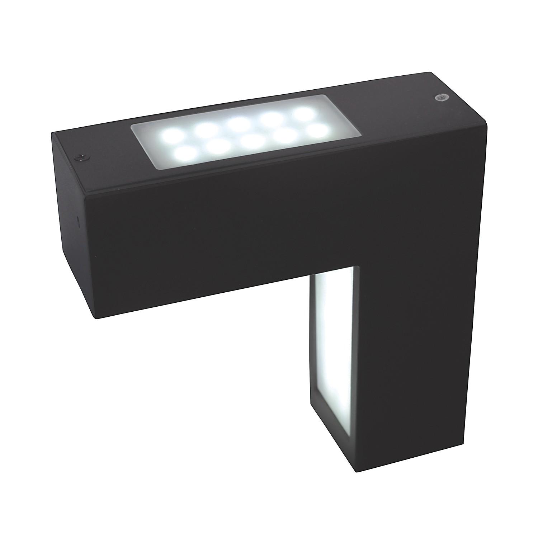 LED-Außen-Wandleuchte Linkage 58-flammig ● Grau Aluminium- Näve A+
