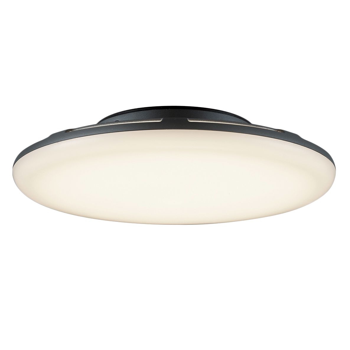 EEK A+, LED-Außenleuchte Bering - Aluminium / Kunststoff - 1-flammig - 27 - Anthrazit, Trio