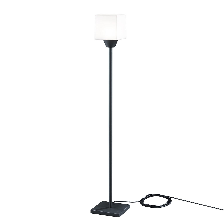 EEK A++, LED-Außenleuchte Kama 1-flammig - Aluminium Kunststoff - Silber, Trio