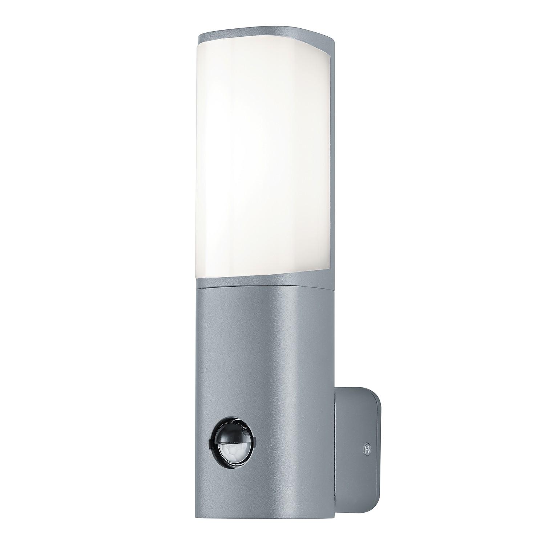 EEK A+, LED-Außenleuchte Ticino 1-flammig - Aluminium Kunststoff - Silber, Trio