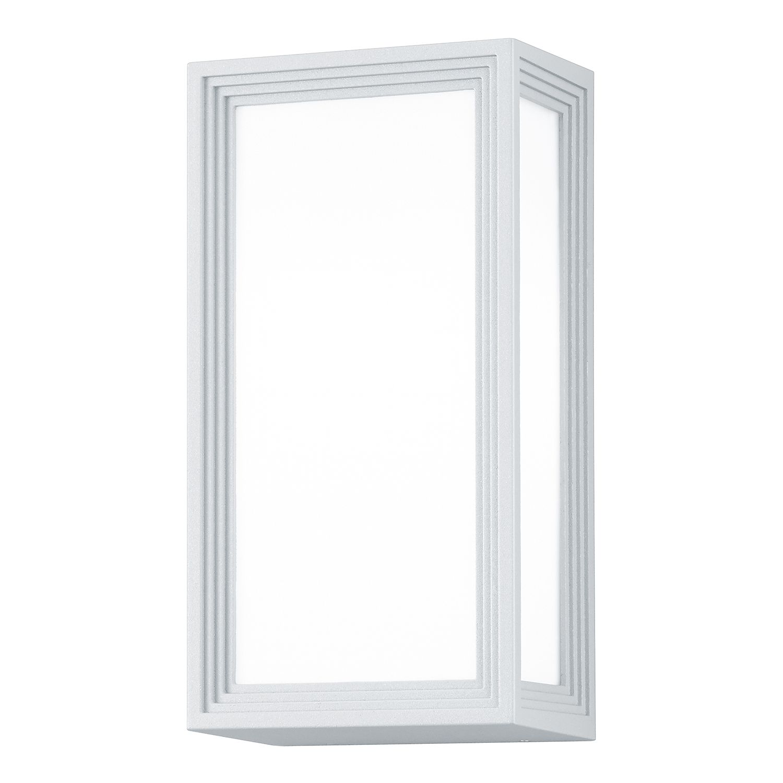 EEK A++, LED-Außenleuchte Timok 1-flammig - Aluminium Kunststoff - Silber, Trio