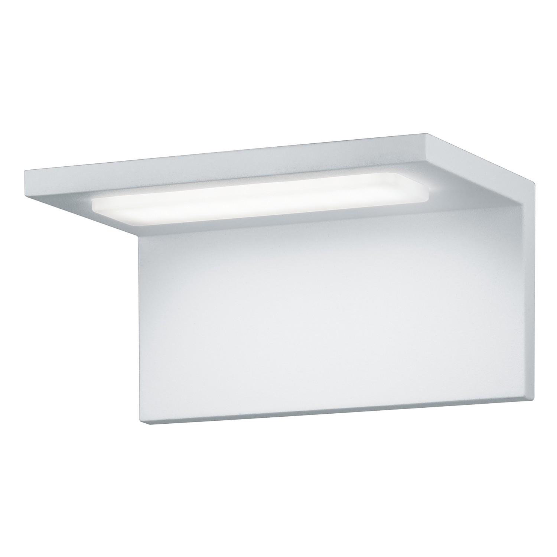 LED-Außenleuchte Trave 1-flammig ● Aluminium Kunststoff ● Silber- Trio A+