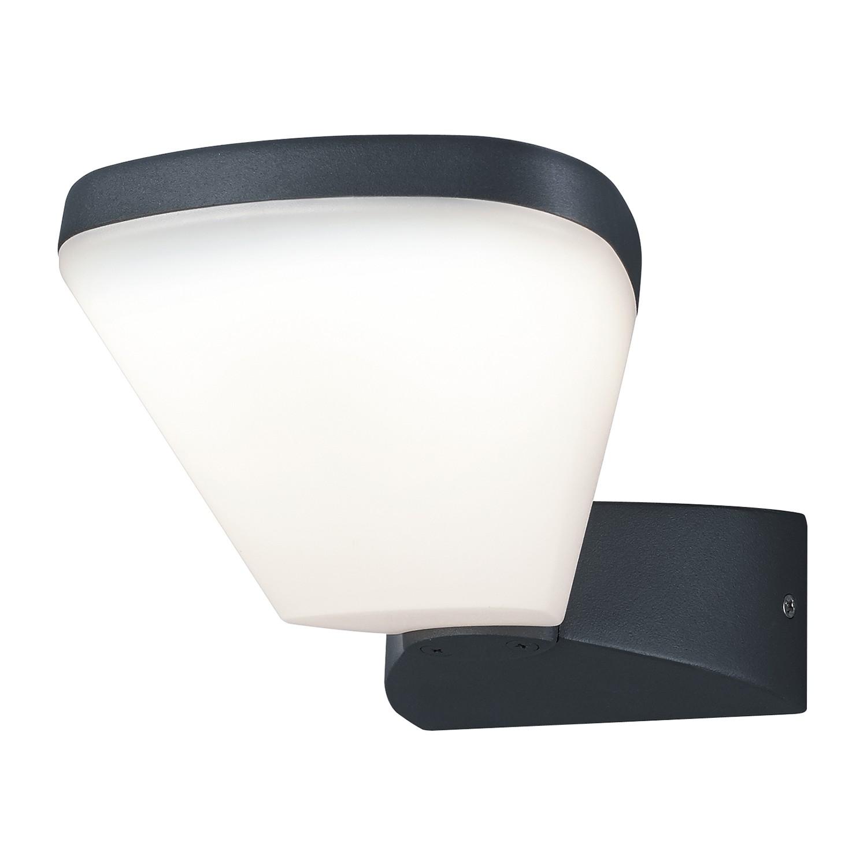 LED-Außenleuchte Volturno 1-flammig ● Aluminium Kunststoff ● Silber- Trio A+