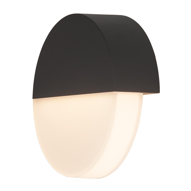 LED-Außenwandleuchte Zen 1-flammig ● Anthrazit Aluminium- Brilliant A+
