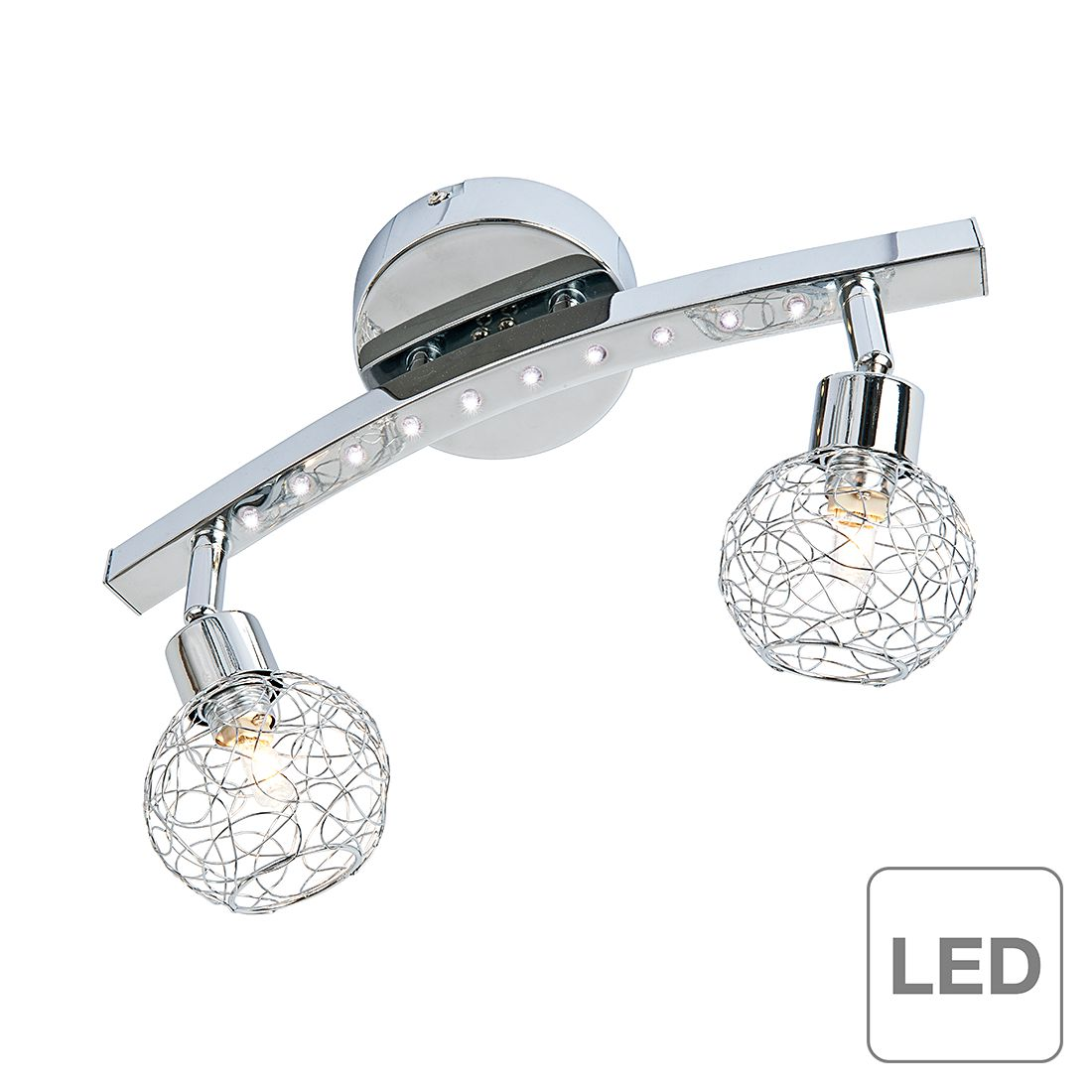 LED-Balken Leo - 12-flammig, Nino Leuchten