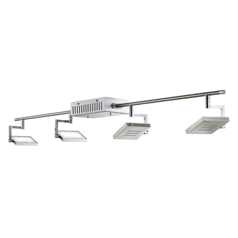 LED-Deckenbogen SHINE-LED ● Silber Matt- Fischer Leuchten A+