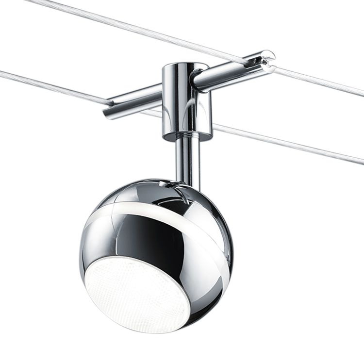 EEK A+, LED-Deckenleuchte Baloubet - Metall - 1-flammig, Trio