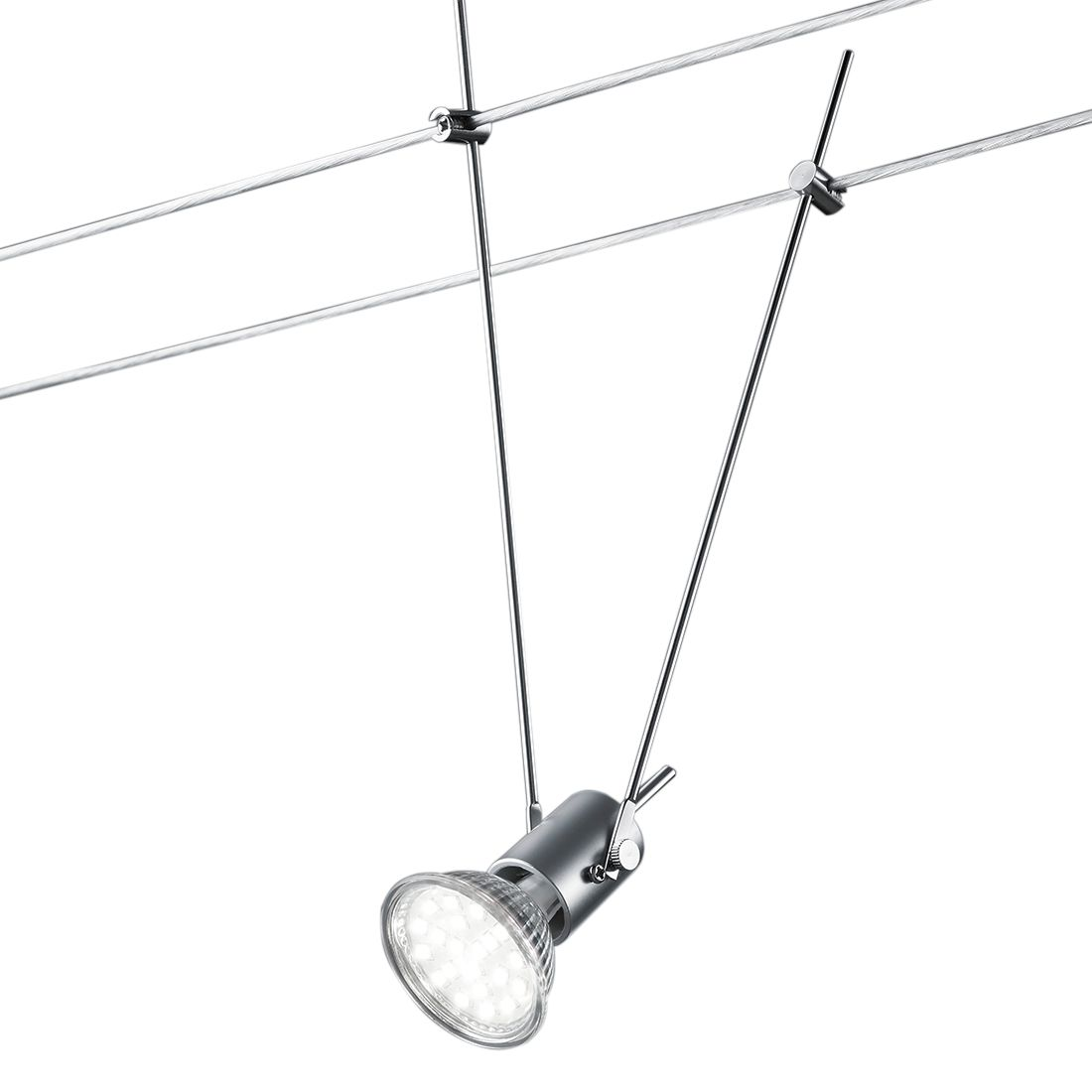 EEK A++, LED-Deckenleuchte Basic - Metall - 5-flammig, Trio