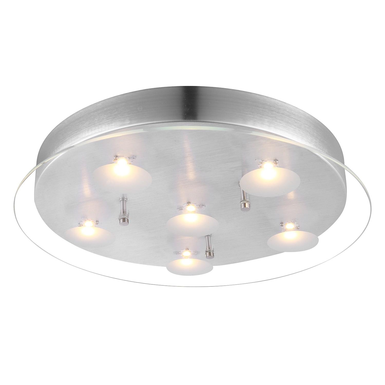 led deckenleuchte berto aluminium 39 globo lighting a. Black Bedroom Furniture Sets. Home Design Ideas