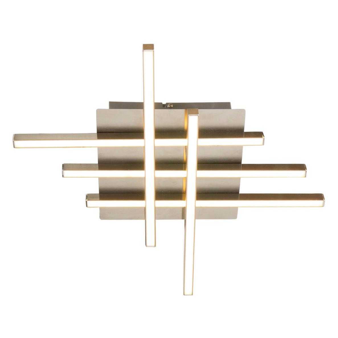 LED-Deckenleuchte Ceiling Aluminium Silber ● 5-flammig- Steinhauer A+