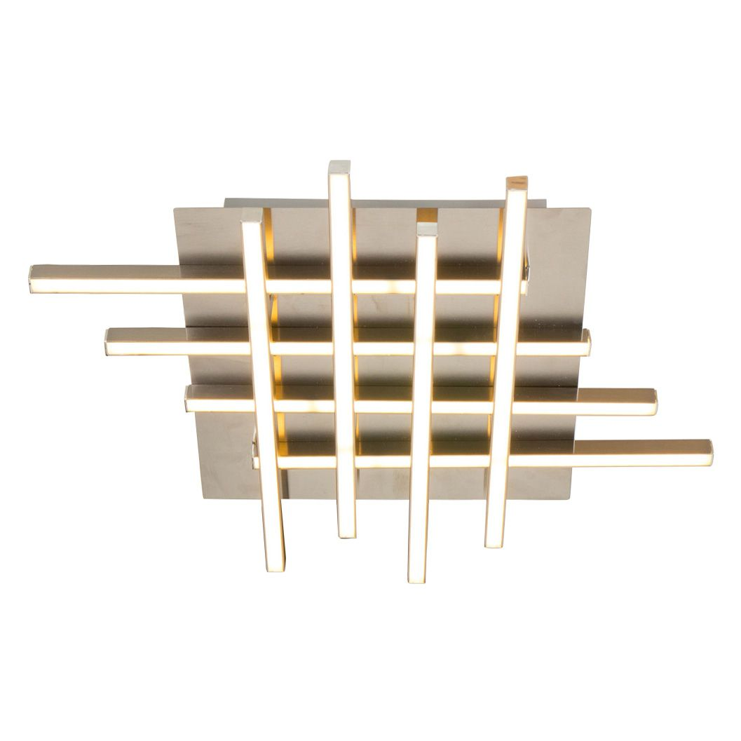 led deckenleuchte ceiling aluminium silber 8 flammig steinhauer a bestellen. Black Bedroom Furniture Sets. Home Design Ideas