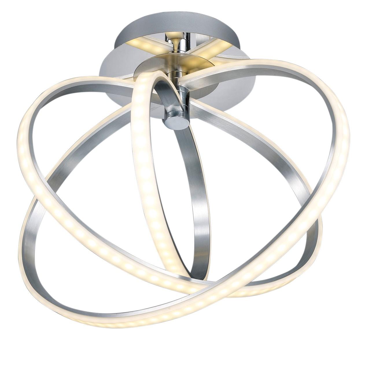 EEK A+, LED-Deckenleuchte Corland - Metall / Acryl - 1-flammig, Trio