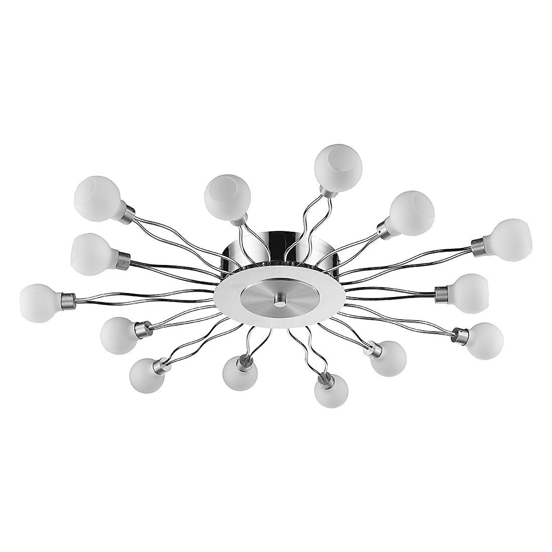EEK A+, LED Deckenleuchte Doppia – Metall/Glas – 14-flammig, Sorpetaler jetzt bestellen
