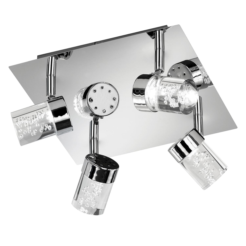 LED-Deckenleuchte Maar ● Acrylglas / Metall ● 4-flammig- SPA line A+