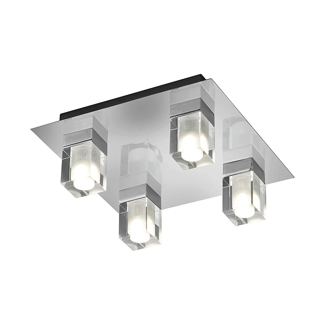 EEK A+, LED-Deckenleuchte – Metall – Chrom – 4-flammig, Trio online kaufen