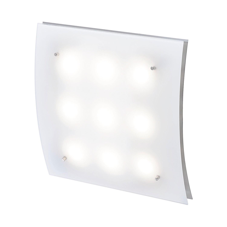 LED-Deckenleuchte ● Nickel- FLI Leuchten A+