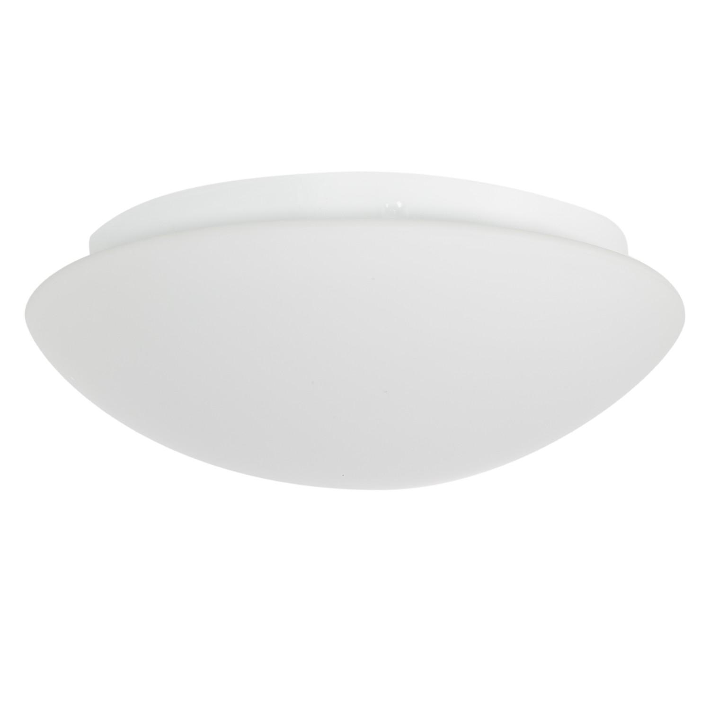 LED-Deckenleuchte Onion ● Glas/Stahl ● Weiß ● 1-flammig- Lampadina A+
