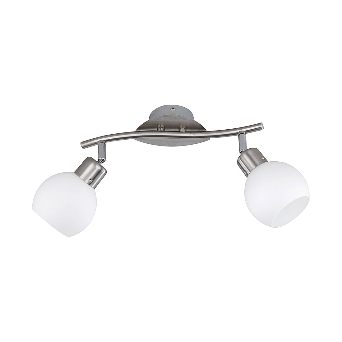 LED-Balken ● Nickel ● 2x4 W- Lux A++