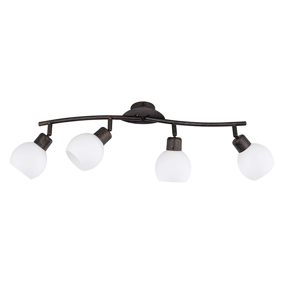 LED-Balken ● Rost Antik ● 4x4 W- Lux A++