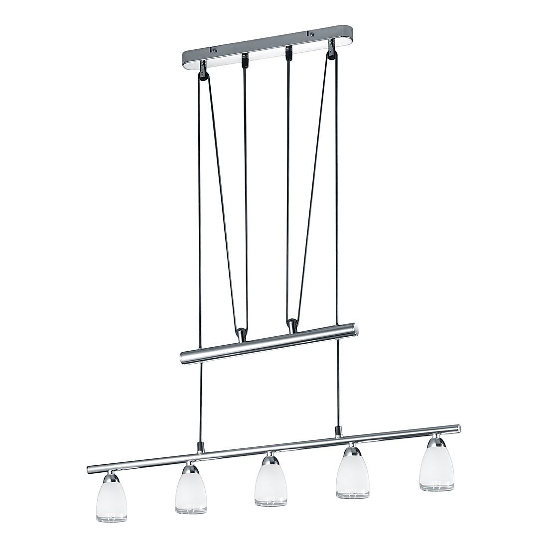 EEK A++, LED-Balken – Chrom – 5×2 W, Trio günstig online kaufen