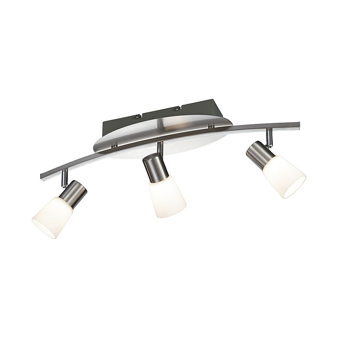 LED-Balken ● Nickel ● 3-flammig- Lux A+