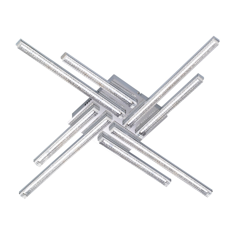 LED-Deckenleuchte Sorel ● Metall / Acrylglas- Wofi A+