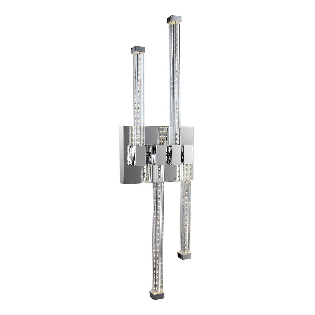 LED-Deckenleuchte Tschuradpra III 1-flammig ● Silber Metall- verchromt- Globo Lighting A+