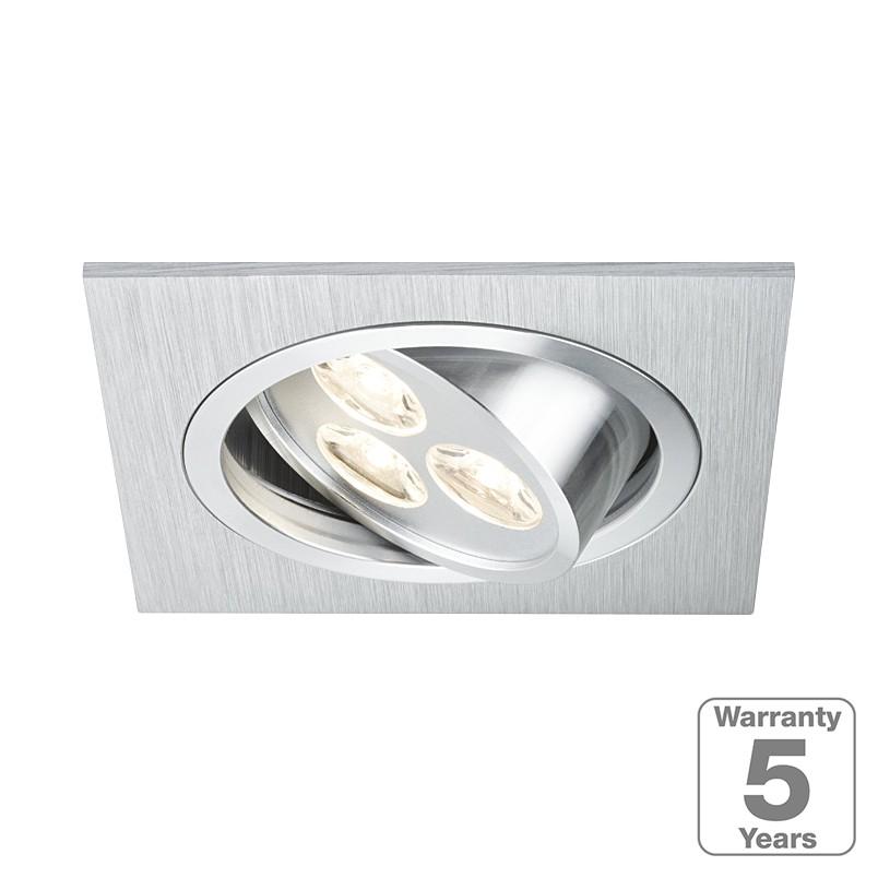 EEK A+, LED-Einbauleuchte Aria – 3-flammig, Paulmann günstig