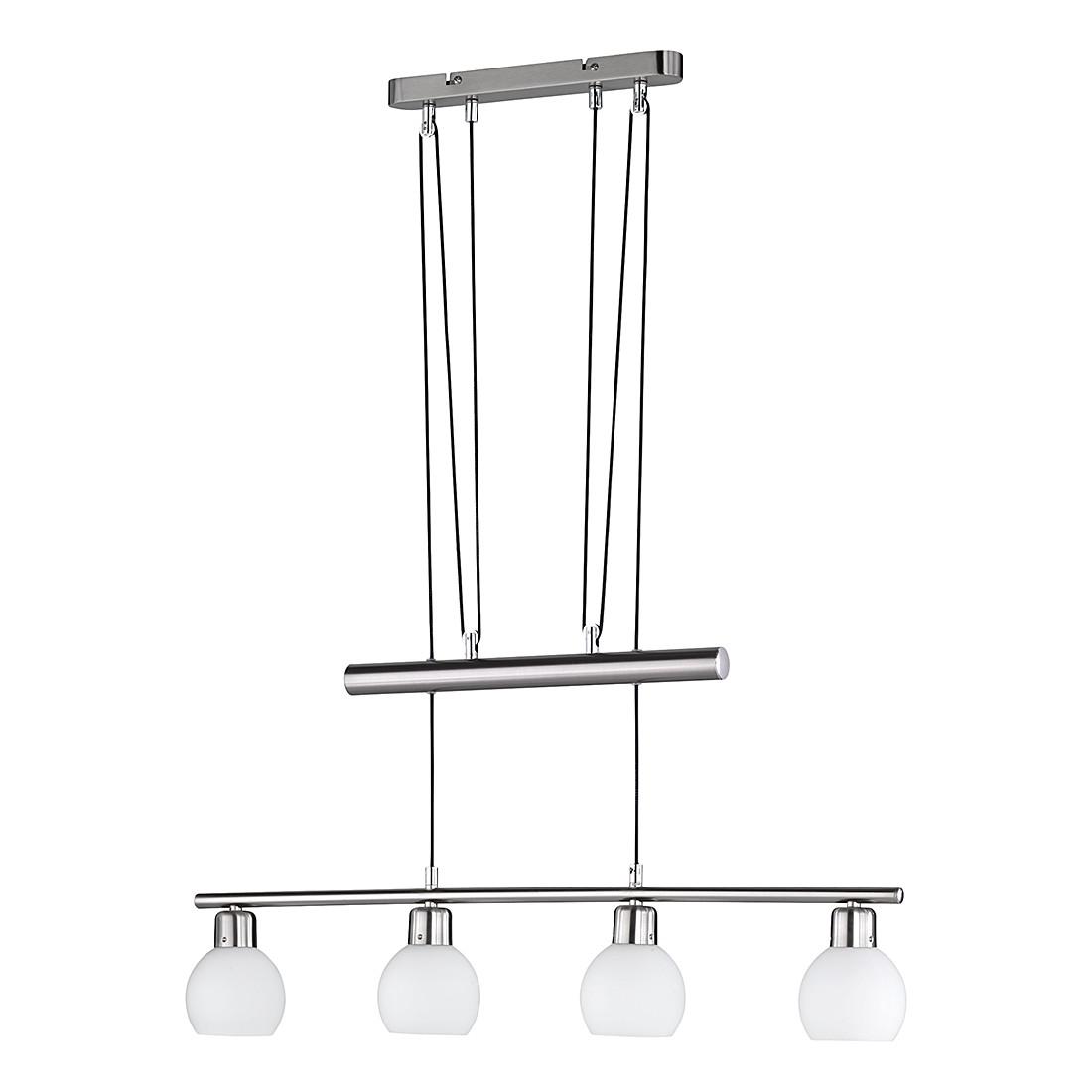 LED-JoJo-Pendelleuchte ● Nickel ● 4x4 W- Lux A++