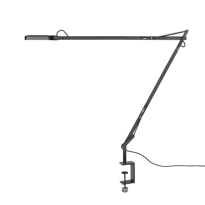 LED Kelvin ● mit Klemme ● Aluminium ● Anthrazit- Flos
